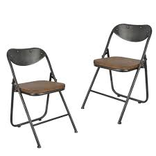 Decor Therapy Vintage Wood Seat Folding Chairs (Set Of 2) (Gun Metal ... Rustic Dark Brown Polished Wooden Ding Table With Bench Leather Vicaro Outdoor Natural Finish Acacia Wood Foldable Chairs Ideas For Replace Padded Folding Fibi Ltd Home For Chair Set Tables Africa Clearanc Fnitur Choose A Small Space Adorable House By John Lewis Buiani Fsccertified Beech Tree Folding Table In 2019 Ziinlife Hong Kong Maya Folditure Amazonia Teak Kansas 4person Patio Amazoncom Gdf Studio 5 Piece China 8 Seater Special Marble