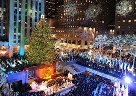 Rockefeller Center Christmas Tree Fun Facts by Christmas Tree In New York Rockefeller Center 2014 Christmas