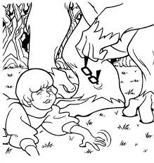 Velma Lost Her Glasses Coloring Page