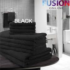 Sunflower Bath Towel Set by Luxury 10 Piece Towel Bale Set 100 Pure Egyptian Cotton Face