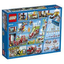 Lego Fire Station, Multi Color - Redlily
