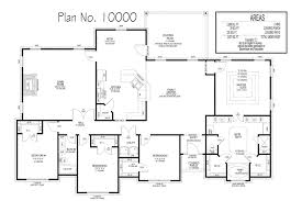 100 10000 Sq Ft House Houseplanfloor Plans By Dauenhauer Associates