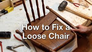 How To Repair Wooden Chair Joints - YouTube Wooden Spindle Chair Repair Broken Playkizi Amazoncom Vanitek Total Fniture System 13pc Scratch Quality Fniture Repair Sun Upholstery Cane Rocking Chairs Mariobrosinfo Rocking Old Png Clip Art Library Repairing A Glider Thriftyfun Gripper Jumbo Cushions Nouveau Walmartcom Regluing Doweled Chairs Popular Woodworking Magazine Custom Made Antique Oak By Jp Designbuildrepair How To And Restore Bamboo Dgarden