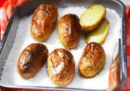 cuisiner la pomme de terre pommes de terre gros sel recettes de cuisine avec pommes de terre