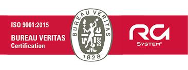 logo bureau veritas certification rg system renews its iso 9001 certification