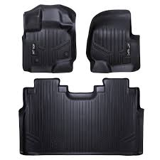 Weathertech Floor Mats 2015 F250 by Amazon Com Maxfloormat Floor Mats For Ford F 150 Supercrew With
