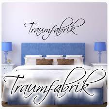wandtattoo traumfabrik schlafzimmer traum fabrik