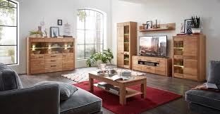 nature two 2 wohnzimmer komplettset inkl led beleuchtung wildeiche bianco günstig möbel küchen büromöbel kaufen froschkönig24