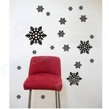 Aomei 0263 Simple Snow Pattern Home Wall Decoration PVC Paper Sticker