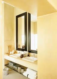 spiegel mit schwarze rahmen über bild kaufen 339979