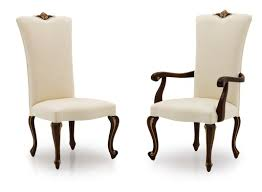 Dauphin French Bespoke Upholstered Dining Chairs MS0431 Custom Made-To-Order