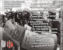 Dead Kennedys Halloween by World Of Bootlegs Bootleg Dead Kennedys Rheinterrassen Bonn