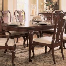 Bob Mackie Furniture Dining Room by American Drew Cherry Grove Oval Leg Dining Table In Antique Cherry