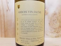 vin chambré arbois vin jaune 2009 domaine rolet 62 cl blanc la boutique du