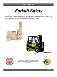 Forklift Safety | Forklift | Occupational Safety And Health ... Forklift Operator Safety Ppt Video Online Download Carpenters Traing Fund Of Louisiana Powered Industrial Truck Program Environmental Health And Or Video Youtube Onsite For Only 89 Per Person Occupational And Man Operates A Cargo Loader Controls Lift Truck Fork Truckforklift Online Course Outline Pedestrian Lightswhat Bright Idea