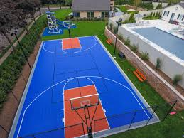 Residential Gallery - SnapSports News Home Basketball Court Design Outdoor Backyard Courts In Unique Gallery Sport Plans With House Design And Plans How To A Gym Columbus Ohio Backyards Trendy Photo On Awesome Romantic Housens Basement Garagen Sketball Court Pinteres Half With Custom Logo Built By Deshayes