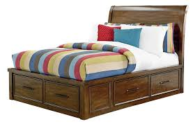 Full Sleigh Bed by Standard Furniture Cameron Youth Full Sleigh Bed With Underbed