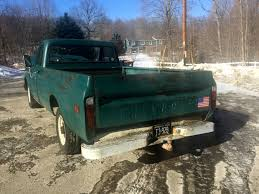 100 1971 Chevy Truck Pickup 6 Cly Stick Rat Hot Rod Shop Work Classic