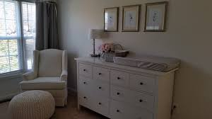 How Much Did Your Nursery Cost? - Weddingbee Dresser Chaing Table Combo Honey Oak Ikea Malm White Topper Decoration As Chaing Table Ccinelleshowcom Squeakers Nursery Barefoot In The Dirt The Best Item Baby Fniture Sets Marku Home Design Agreeable Campaign Land Of Nod Our Nursery Sherwin Williams Collonade Gray Wall Color Pottery Bedroom Charming For Reese Barn Kids
