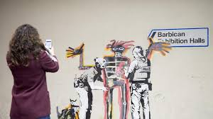 Most Famous Mural Artists by The Underground Graffiti Artist Is At It Again Two New Banksy