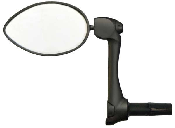 CycleAware Urbie Bicycle Handlebar End Mounted Mirror - Black