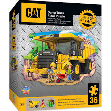 Caterpillar Dump Truck - 36 Pieces Kids Shaped Floor Puzzle ... Buy Cat Series Of New Children Disassembly Truck Toy Dump Wiconne Wi 19 November 2017 A Cat On An Tough Tracks Dump Truck Kmart Caterpillar Lightning Load Toy State Mini Worker Excavator 2 Pack In Toy State Ls Big Rev Up Machine Yellow Free Wheeling Machines 3 Toystate New Boys Kids Building Mega Bloks Large Playing Workers Amazoncom Toysmith Shift And Spin Truckcat Toys Trailer