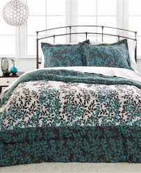 Blue Tie Dye Bedding by Navy Blue White Tie Dyed 12 Piece Contemporary Reversible