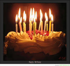 Birthday Cakes With Candles 10