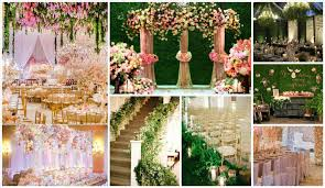 Outdoor Wedding Stage Decorations