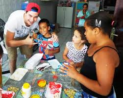 Teach Art And Crafts To Young People In Brazil