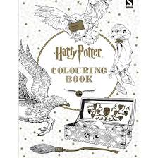 Harry Potter Colouring Book By Scholastic Inc
