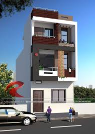 100 Home Designing Photos 3D Narrow House Designs Gallery RC Visualization