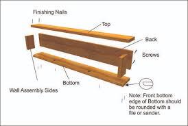 Free Woodworking Plans Floating Shelves by Diy Secret Floating Shelf Gun Safe