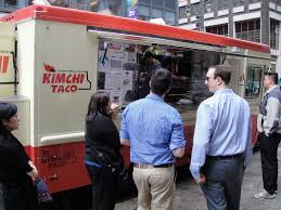 NYC Food Truck Lunch: Krispy Fish Bowl From Kimchi Taco Truck 1 ...