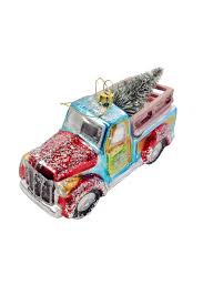 100 Glass Truck GHome2 Ornament From Minneapolis By Go Home Furnishings