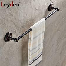 leyden massivem messing antik bronze einzigen handtuchhalter handtuchhalter kleiderbügel schwarz bronze wand handtuchhalter bad accessoires