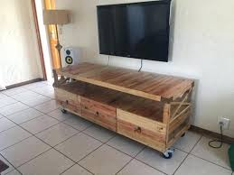 Rustic Tv Stand Pallets Pallet White Corner