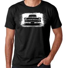 Classic Trucks, Custom Grills, Black T-shirt – TreaD WeaR T-shirtS