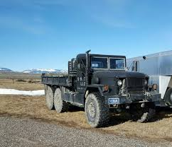 1987 M35A2 Deuce And A Half 2.5 Ton Truck | Military Vehicles For ...