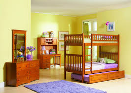 Decor With Wooden Bedroom Large Size Kids Room Attractive And Cheerful Wall Color Paint Ideas Boy Girl