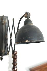 in wall light sconce barn electric 8 blush pink black cloth