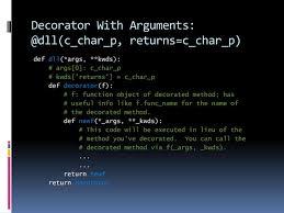 Python Decorators With Arguments by Ppt Python Decorators Powerpoint Presentation Id 2858400