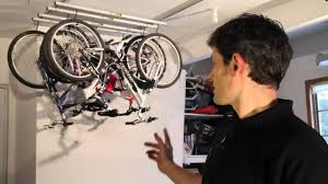 Ceiling Bike Rack Canadian Tire by Introducing The Saris Cycleglide Youtube