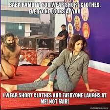 8 Hilarious Memes When Baba Ramdev And Shilpa Shetty Did Yoga