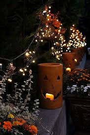 Pottery Pumpkin Candle Holders From Home Depot Who Knew Halloween And Fall Decorations For