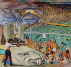 diego rivera pan american unity mural at city college of san francisco