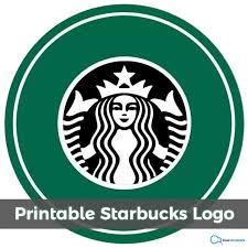 Free Printable Starbucks Logo 2018 Kiwitemplate Inside