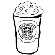 Starbucks Clipart Black And White 7