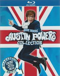 Halloween Express Austin Powers by Austin Powers Collection Blu Ray Shagadelic Edition