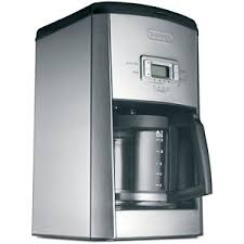 DeLonghi 14 Cup Programmable Coffeemaker Stainless Steel